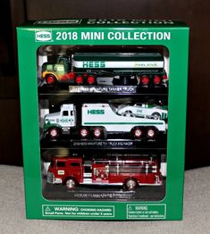2005 Hess Miniature Helicopter MINT IN BOX FD USA Hess Miniature Toy Truck
