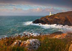 Northern Ireland Landscape Photography: Trevose lighthouse Cornwall