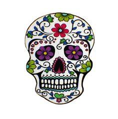 mexican sugar skulls lollopoleza - Mexican Halloween Skulls