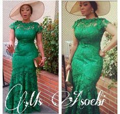 french lace aso ebi styles - Google Search