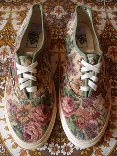 tapestry Vans | oh my God I love these