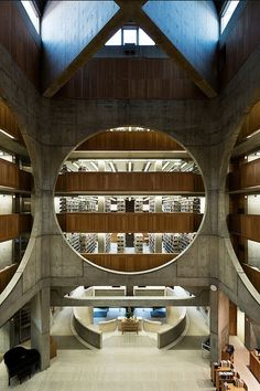 Exeter Library - Louis Kahn