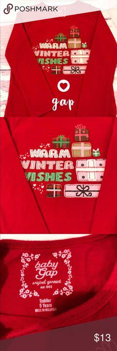 NWT Baby Gap Boys Long Sleeve Tee Shirt Black Stay Cool Red Winter Hat 18-24 M