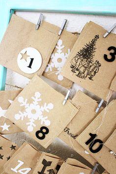 Diy-Navidad: El Calendario de Adviento de Celine : x4duros.com
