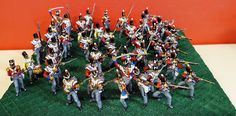 Painted miniature scale figures, soldiers and warriors in plastic and metal. Collectors items ann for wargaming. Waterloo 1815, Military Figures, Soldiers, Scale, Miniatures, Hand Painted, Painting, Weighing Scale, Painting Art