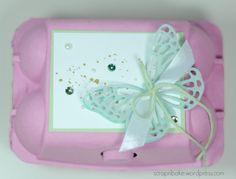 Stampin UP! - Easter - Ostern - Verpackung - Eierkarton - Schmetterling - thinlits - butterflies - egg cartons