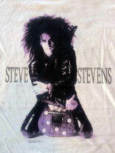 S Stevens💜 Steve Stevens, Steve Vai, Billy Idol, Music Mix, Sexy Men, Babe, Rocks, Hair Color, People
