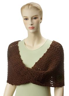 Ravelry: Chocolate Lace Mobius Wrap by Carolyn Christmas