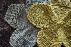knit washcloths.