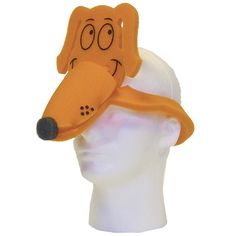 "Wow your customers with this adorable foam puppy dog hat! If you're promoting a new amusement park ride or pet store opening, this is the perfect item to have at the ready. These hats are bound to get some attention whether at a product launch or on the trade show floor. Made from high quality foam and available in several colors, this foam hat will get them ""barking"" up the right promotional tree."