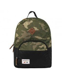 f004bd83ca9b BENRUS BULLDOG - GREEN CAMO Camouflage Backpack