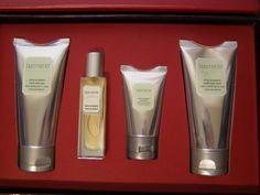 Laura Mercier #CreamDePistache Quartet Body Wash Lotion 4 piece Gift Travel Set #LauraMercier