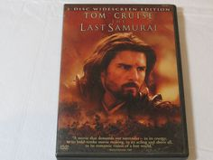 The Last Samurai DVD 2004 2-Disc Set Widescreen Edition Drama Rated R Tom Cruise