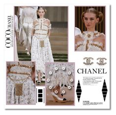 """Join the contest : Chanel - inspired"" by psyche8778 ❤ liked on Polyvore featuring Chanel"
