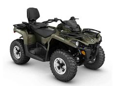 New 2016 Can-Am Outlander L MAX DPS 450 Green ATVs For Sale in North Carolina. Raise your expectations, not your price range. Get the all-terrain performance you'd expect from Can-Am at the most accessible price ever. A more comfortable two-up riding experience that simply and quickly converts to a one-up. With the added comfort of Tri-Mode Dynamic Power Steering (DPS).