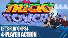 Tricky Towers - 4-player PS4 Gameplay