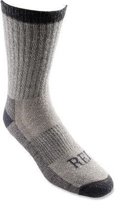 $15.50 - REI Merino Wool Hiking Socks Grey Size L