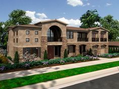 Two-Story Library and More - 23411JD | Architectural Designs - House Plans