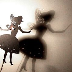 Toothfairy Shadow Puppet