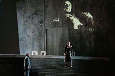 Don Giovanni, Director Daniele Abbado, set Gianni Carluccio, Video Luca Scarzella