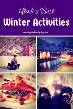 Utah's best winter activities for families  | tipsforfamilytrips.com