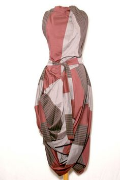 Vivienne Westwood Anglomania  --  Striped Eight Dress