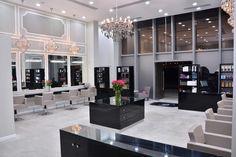Glamorous beauty salon. Definition of luxury. UAE