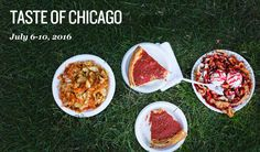 Taste of Chicago: July 6-10, 2016 FREE
