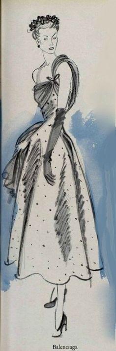 1948 - Balenciaga dress