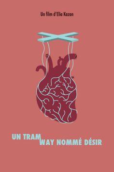 Un tramway nommé désir. Affiche par Manon Guenard (e-artsup promo 2015)