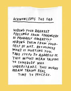 Do not hide your feelings from yourself.process it. Words Quotes, Me Quotes, Sayings, Wall Quotes, Pretty Words, Beautiful Words, Journaling, Believe, Self Reminder
