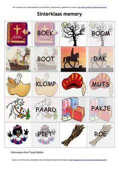 #Sinterklaas #memory geheugenspel