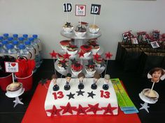 My daughter's 1D party.