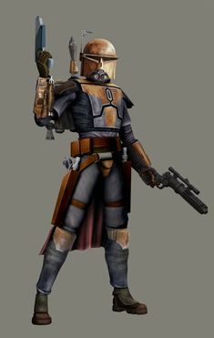 Bounty Hunter Outcast in TCW by AraxussYexyr on DeviantArt Star Wars Characters Pictures, Star Wars Images, Star Wars Concept Art, Star Wars Fan Art, Ralph Mcquarrie, Star Wars Rpg, Star Wars Clone Wars, Star Trek, Larp