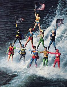 Super Heroes on vacation