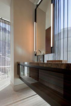 Spectacular modern home embraces the desert landscape