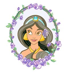 Jasmine - purple #disney #princess #children #cartoon #fun