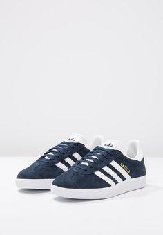 adidas Originals GAZELLE - Sneaker low - collegiate navy/white/gold metallic …