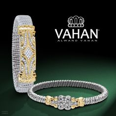 Shine with all you have! #VAHAN #VAHANstyle #Bracelet #Gold #Silver #Diamonds
