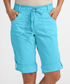 Look what I found on #zulily! Delray Ocean Safari Bermuda Shorts - Plus #zulilyfinds