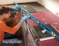 Granite Countertops: How to Install Granite Tile | The Family Handyman
