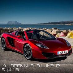 McLaren MP4-12C Ruby red!