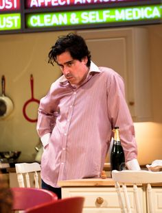 Rules for Living, National Theatre - May 2015 - Stephen Mangan (Adam)