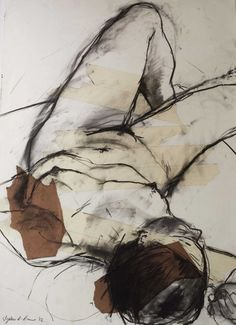 Figure Painting, Figure Drawing, Painting & Drawing, Pencil Art Drawings, Art Sketches, Female Body Art, Charcoal Art, Life Drawing, Erotic Art