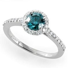 12 Non-Traditional Engagement Rings Even Married Girls Will Swoon Over via Brit + Co.