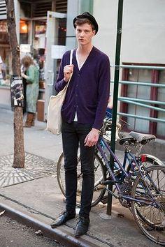 Matthew Hitt street style