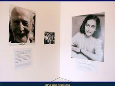 Ann Frank et son père Polaroid Film
