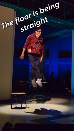 is he literally fucking levitating what the shit