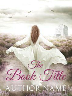 Premade Book Cover - vercodesigns Webseite! Romantisch Frau Lavendel Buch Cover