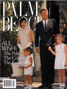 Magazine of the Kennedys in Palm Beach